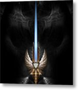 Angel Wing Sword Of Arkledious Dgs Metal Print