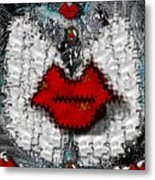 Angel Wings Brings Love And Peace Metal Print