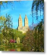 Perfect Morning In The Park Metal Print