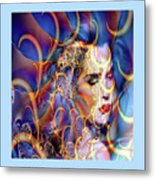 Angelic Beauty Metal Print