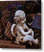 Angelic Sentry Metal Print