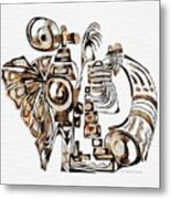 Angelic Tube 3636 Metal Print