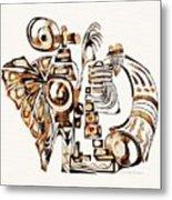 Angelic Tube 3637 Metal Print