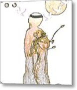 Angelita Blanco Metal Print