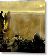 Angels And Brothers Metal Print