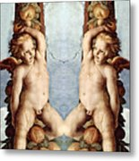 Angels And Pears Metal Print