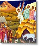 Angels And Shepherds Metal Print