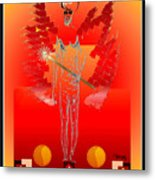 Angels - Archangel Sariel Metal Print