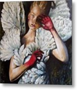 Angel's Dont Cry. Metal Print