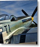 Angels Playmate P-51 Metal Print
