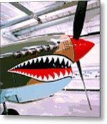 Anger Management Palm Springs Air Museum Metal Print