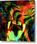 Anger Tunnel Metal Print