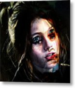 Angie, She Loves Stories Metal Print