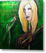 Angie Stevens Solo Metal Print