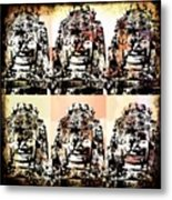 Angkor Warhol #1.2 Metal Print