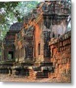 Angkor Wat Ruins - Siem Reap, Cambodia Metal Print