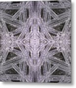 Angles In Ice On Monadnock - A4 Metal Print