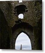 Anglo - Norman Castle. Metal Print