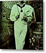 Anglo Sailor In China Ca 1890 Metal Print
