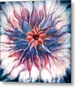 Angora Bloom Metal Print