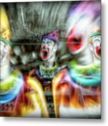 Angry Clowns Metal Print