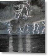 Angry Skies Metal Print