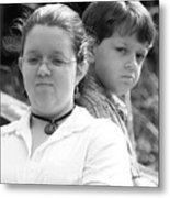 Angry Two Metal Print