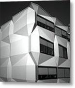 Angular Architecture Metal Print