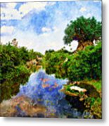 Animal Kingdom Tranquility Metal Print