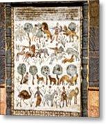 Animals Past And Present Metal Print