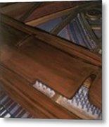 Anita's Piano 2 Metal Print