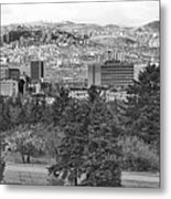 Ankara - Bw Metal Print