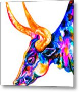 Ankole Longhorn Metal Print