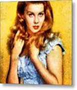 Ann-margert, Vintage Hollywood Actress Metal Print