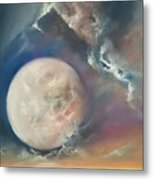 Anna Maria Moonset Metal Print