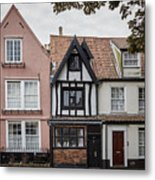 Anna Sewell's House In  Great Yarmouth Metal Print