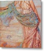 Annabel Lee James Abbott Mcneill Whistler Metal Print