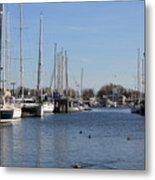 Annapolis - Harbor View Metal Print