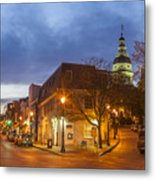 Annapolis Main Street Metal Print