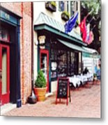 Annapolis Md - Restaurant On State Circle Metal Print