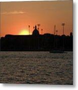 Annapolis Sunset Metal Print