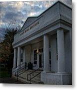 Anne G Basker Auditorium In Grants Pass Metal Print