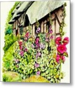 Anne Hathaway Cottage Metal Print