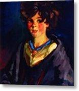 Annie Geg 1925 Metal Print