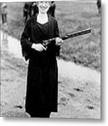 Annie Oakley, American Folk Hero Metal Print