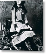 Annie Oakley  Star Of Buffalo Bill's Wild West Show Metal Print
