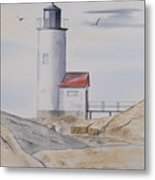 Annisquam Lighthouse 2 Metal Print