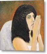 Annolita Praying Metal Print