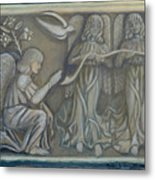 Annunciation - Existing Fragment Metal Print