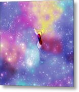 Anomaly In Space Metal Print